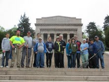 Volunteers for Park Clean Up Day, April 27, 2013