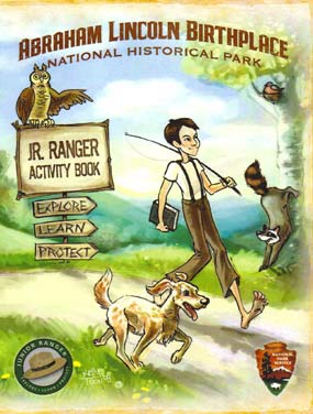 Click on the cover of the Junior Ranger Booklet for a downloadable copy.