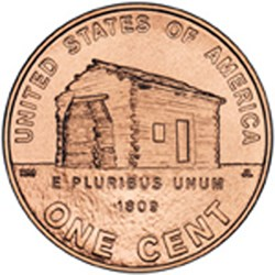 The redesigned Lincoln One-Cent Coin The Kentucky Years