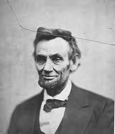 Last known photograph of Lincoln