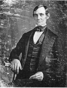 First known photograph of Lincoln