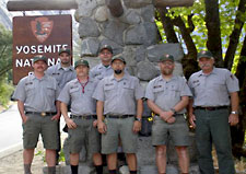 Yosemite's Historic Preservation Program team