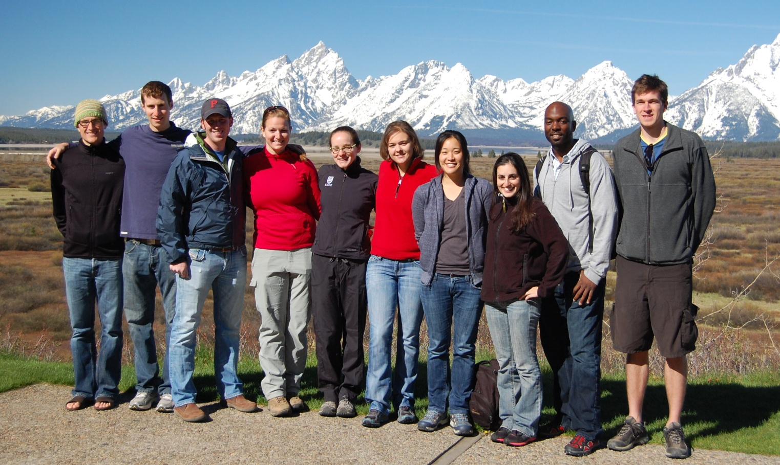 BPI Class of 2011 at Grand Teton National Park