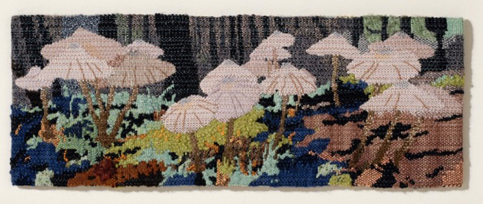 """Schoodic Mushrooms"" artwork by George-Ann Bowers"