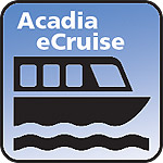 Acadia eCruise icon with boat