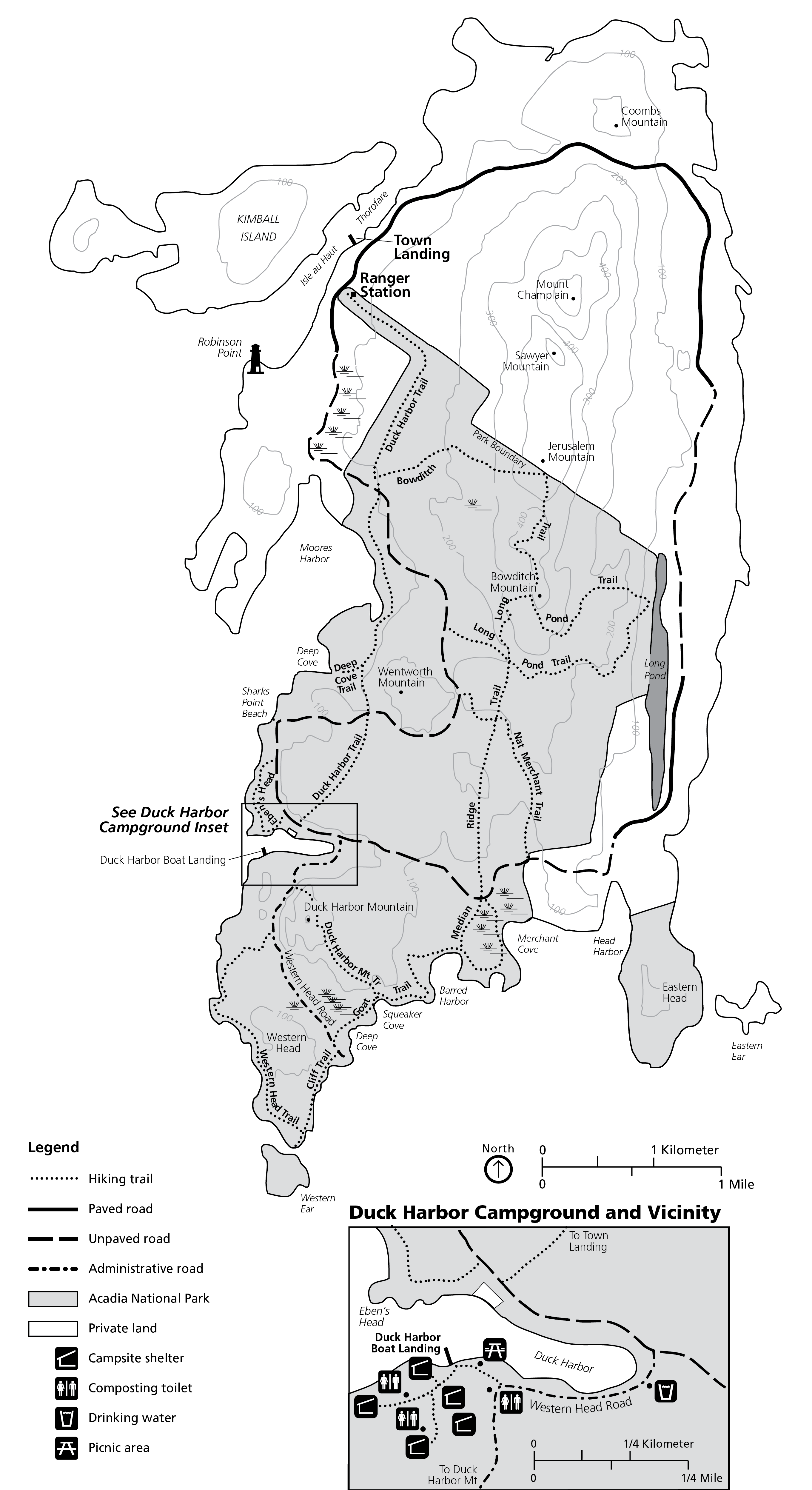 Isle au Haut Acadia National Park U S National Park Service