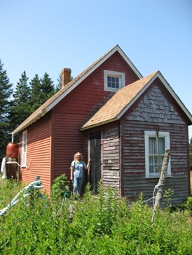 Schoolhouse at Baker Island