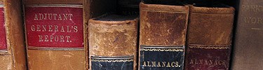 Historic books: Adjutant General's Report and Almanacs
