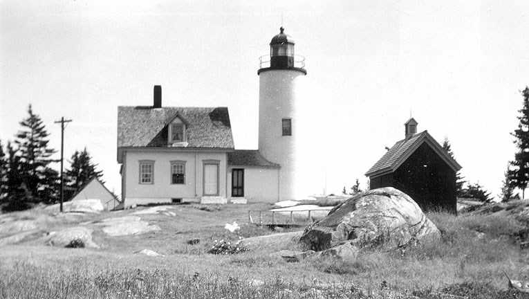 Baker Island light house