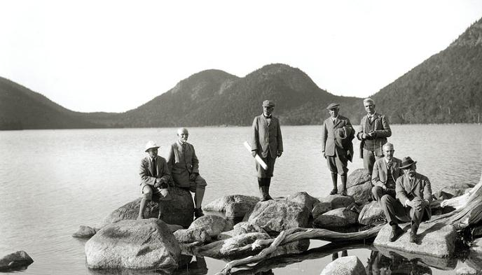 History Of Acadia Acadia National Park US National Park Service - Acadia national park on the map of the us