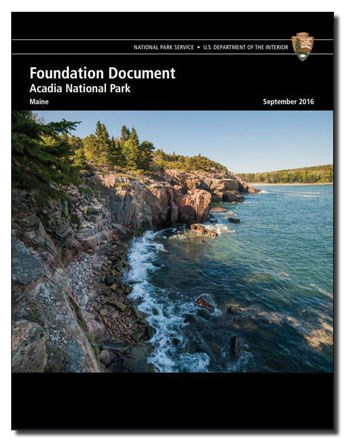 Cover of Acadia NP's Foundation Document