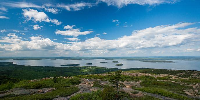 View from Cadillac Mountain Kent Miller