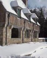 Winter at the Jordan Pond Gatehouse