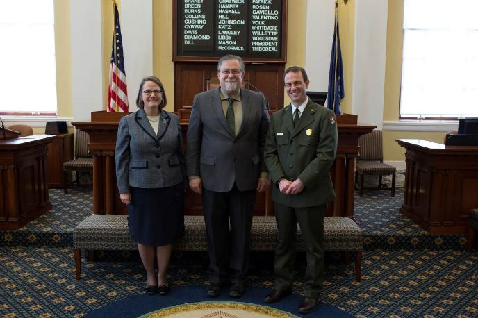 Maine Legislature Honors Acadia