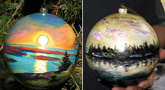 Holiday Ornaments - Acadia and Saint Croix