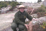 Park Ranger on Cadillac Mtn