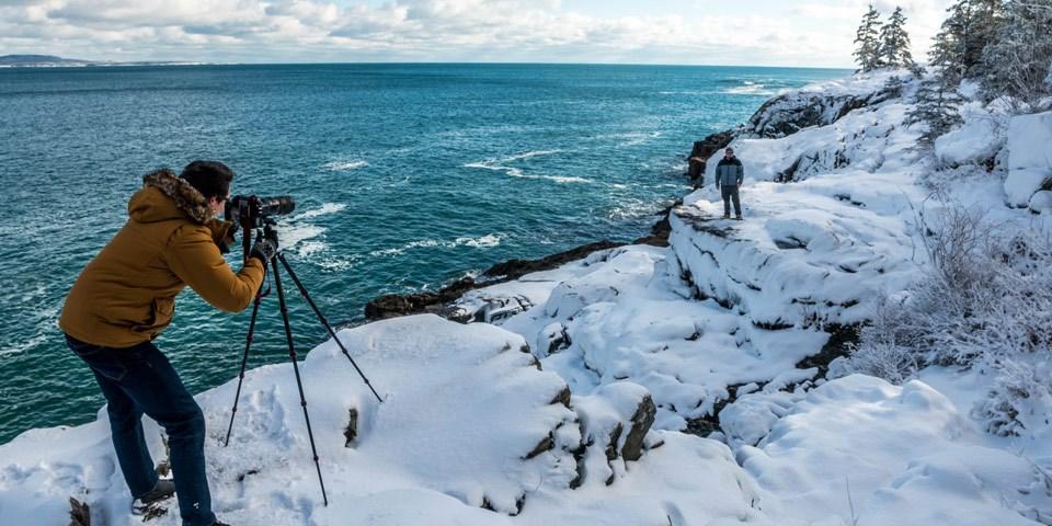 Winter Activities - Acadia National Park (U S  National Park