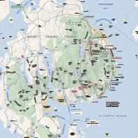 Acadia Detailed Map