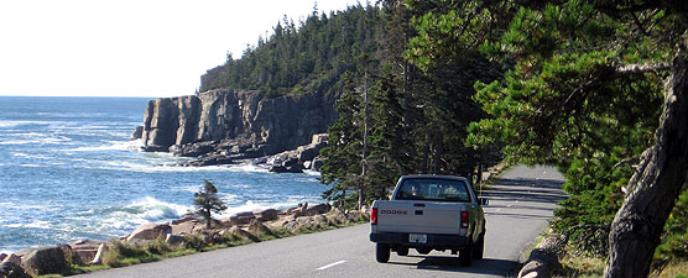 Scenic Driving Acadia National Park US National Park Service - Acadia national park on the map of the us