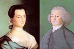 Abigail Adams and John Adams by Benjamin Blythe
