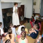 Abigail Adams at the John Quincy Adams Birthplace