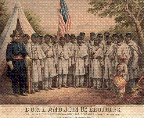 USCT Recruitment poster