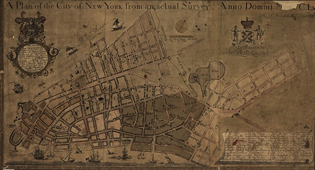 "Maerschalk's ""Plan of New York"""
