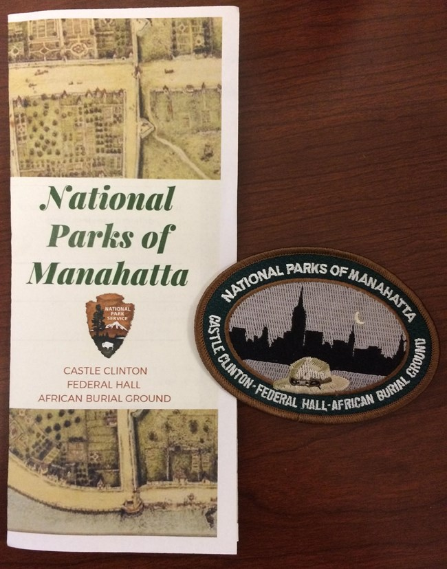 image of activity pamphlet for National Parks of Manahatta