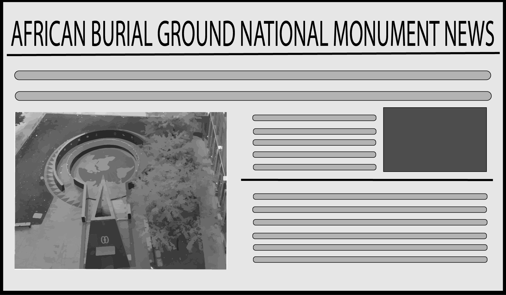African Burial Ground Breaking News