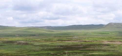 Photo of Niobrara River Valley in the spring.