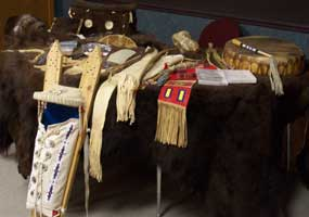 Props for American Indian program