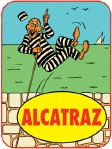 Alcatraz Escape Sticker