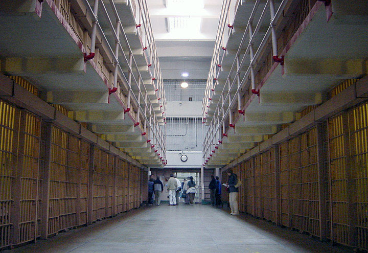 Broadway - Alcatraz cellhouse
