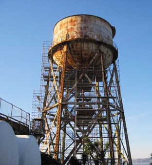 Rehabilitation of the Alcatraz Water Tower - Alcatraz Island