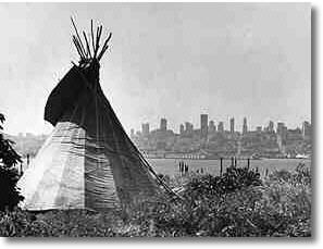 Tipi on Alcatraz during American Indian Occupation