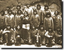 Hopi prisoners on Alcatraz, 1895