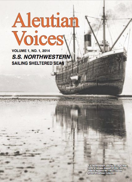 SS Northwestern on Magazine Cover