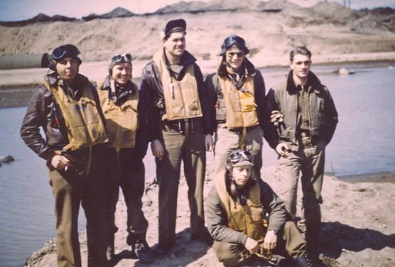 Pilots of the 11th Fighter Squadron