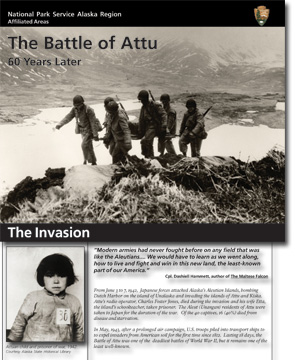 Image of Battle of Attu brochure