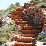 Stairway to heaven... and to the flint quarries
