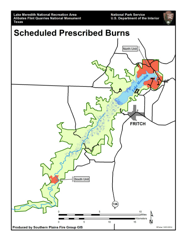 Map of prescribed fire units