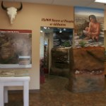 New exhibits at the Alibates Visitor Center