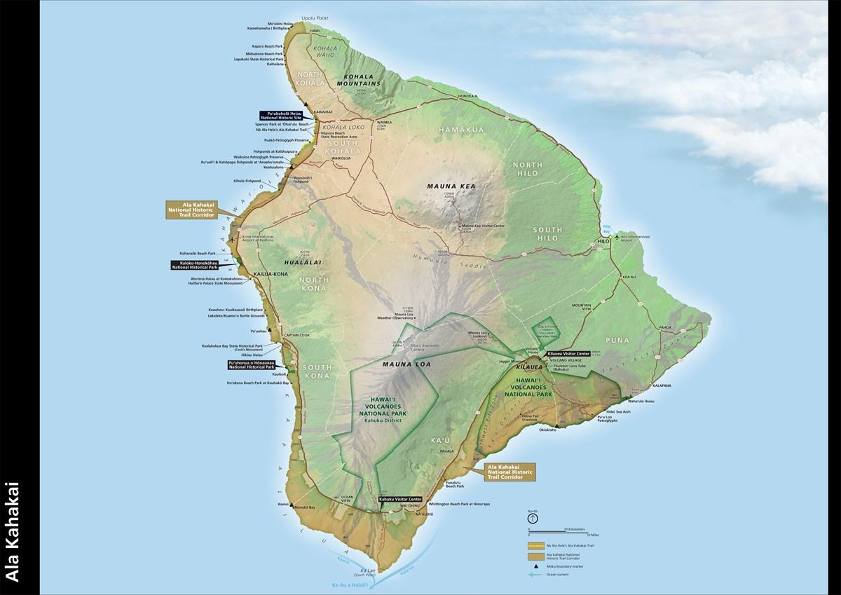 Maps - Ala Kahakai National Historic Trail (U.S. National ...