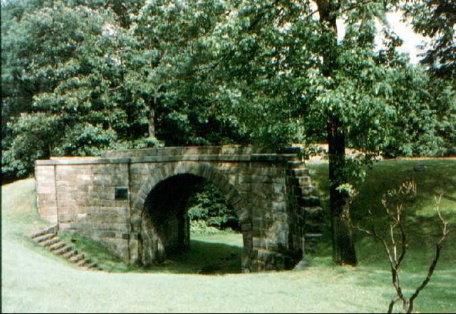 Modern photo of Skew Arch