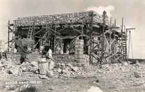 Construction of Devils Lake conversion station.