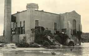 Steam Plant after a flood.
