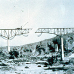 Pecos High Bridge Under Construction