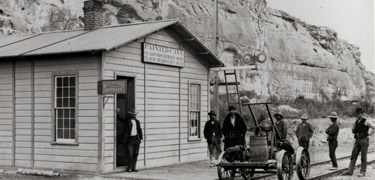 Historic Painted Cave Station