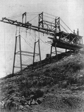 Construction of the Pecos Viaduct