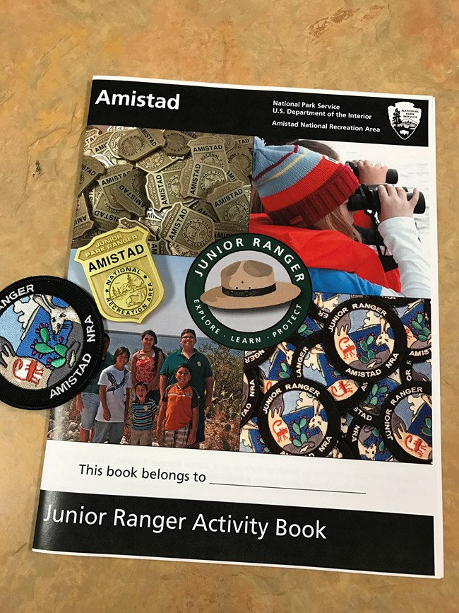 AMIS Junior Ranger Book Image
